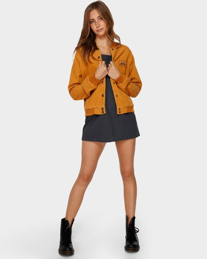 4 THIS WAY JACKET Yellow 6591890X Billabong