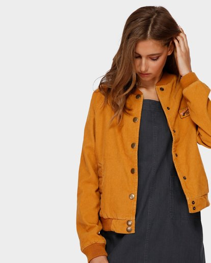 1 THIS WAY JACKET Yellow 6591890X Billabong