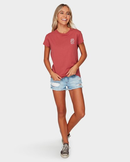 4 SUMMER FUN TEE Red 6592002 Billabong