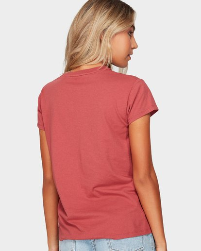 2 SUMMER FUN TEE Red 6592002 Billabong