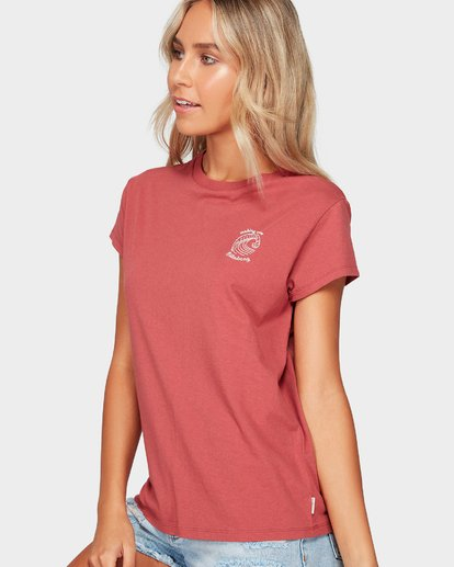 1 SUMMER FUN TEE Red 6592002 Billabong