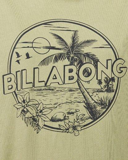 3 Barbados Tee Green 6592005 Billabong
