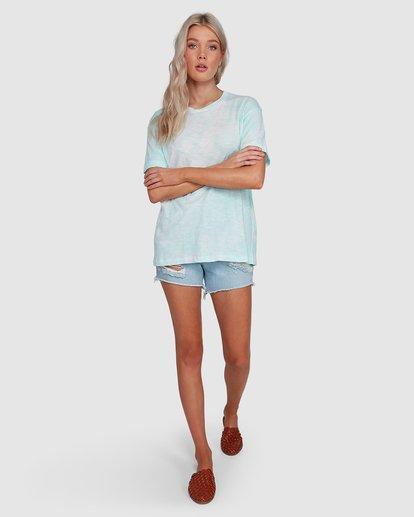 6 Fade To Dusk Short Sleeve Tee Blue 6592038X Billabong