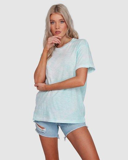 1 Fade To Dusk Short Sleeve Tee Blue 6592038X Billabong
