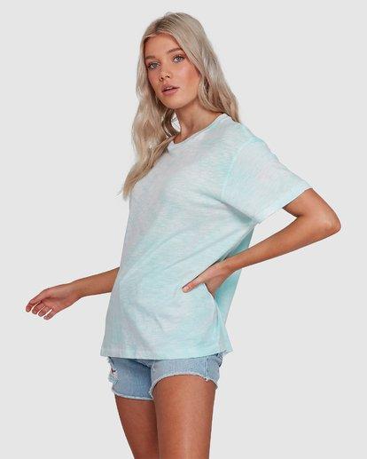 2 Fade To Dusk Short Sleeve Tee Blue 6592038X Billabong