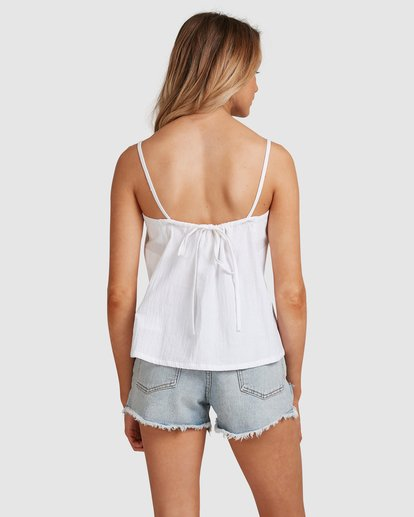 3 Endless Summer Cami Top White 6592091 Billabong