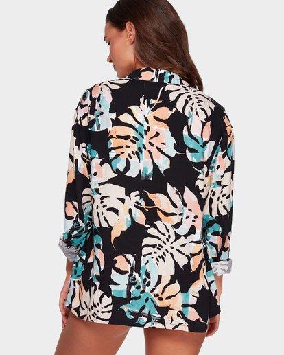 2 Utopia Palm Shirt Black 6592101 Billabong