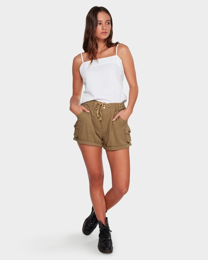 6 Desert Daisy Shorts Green 6592280 Billabong