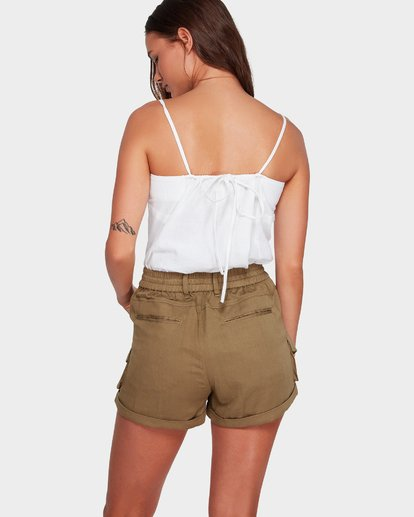 2 Desert Daisy Shorts Green 6592280 Billabong