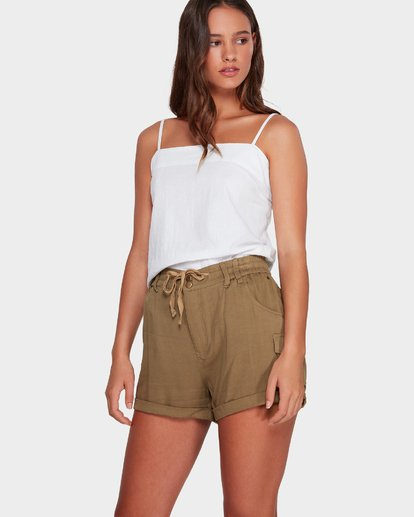 1 Desert Daisy Shorts Green 6592280 Billabong