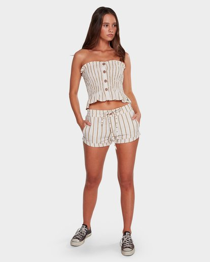 6 Holiday Stripe Shorts Beige 6592283 Billabong
