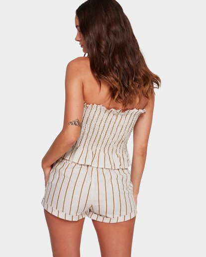 2 Holiday Stripe Shorts Beige 6592283 Billabong