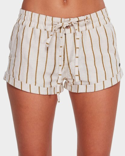 3 Holiday Stripe Shorts Beige 6592283 Billabong