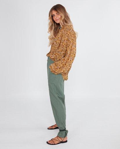 2 Elle Ferguson Swagger Cargo Pants Green 6592409M Billabong