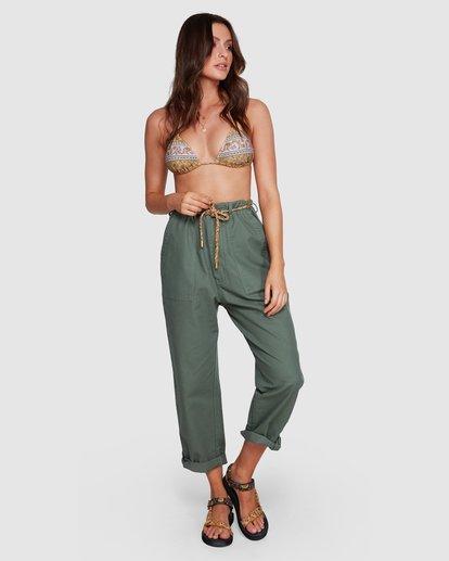 9 Elle Ferguson Swagger Cargo Pants Green 6592409M Billabong