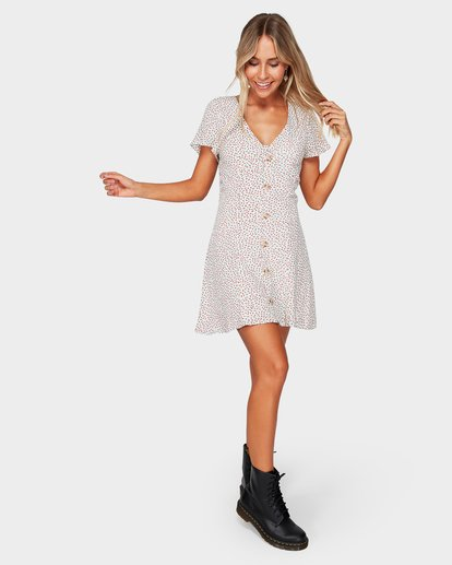 4 LOVER DITZY DRESS Beige 6592476 Billabong