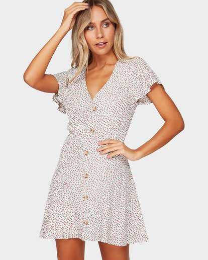 0 LOVER DITZY DRESS Beige 6592476 Billabong