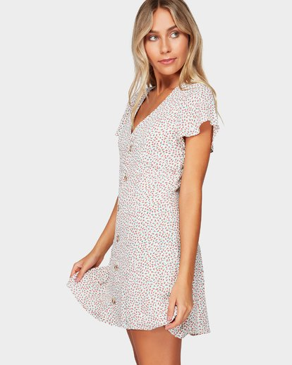1 LOVER DITZY DRESS Beige 6592476 Billabong