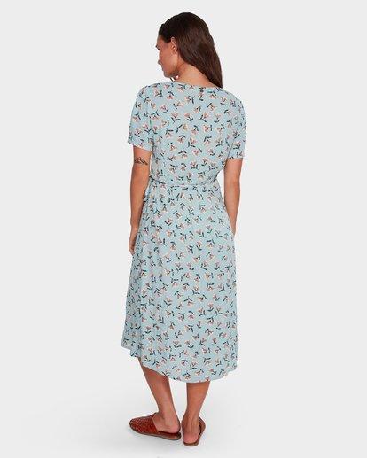 3 Bluebell Wrap Dress Blue 6592482 Billabong