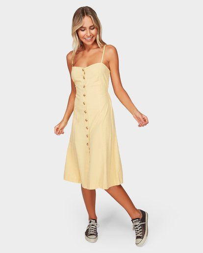 5 Paradiso Midi Dress Yellow 6592484 Billabong