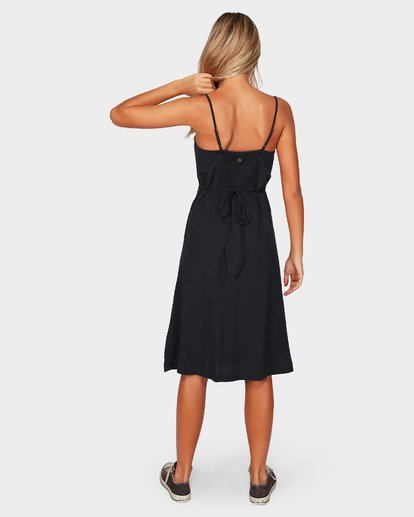 5 PARADISO MIDI DRESS Black 6592484 Billabong