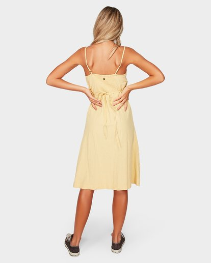 3 Paradiso Midi Dress Yellow 6592484 Billabong