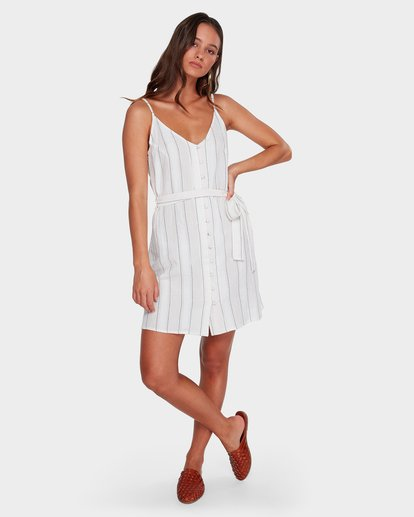 5 Arizona Stripe Dress Beige 6592486 Billabong