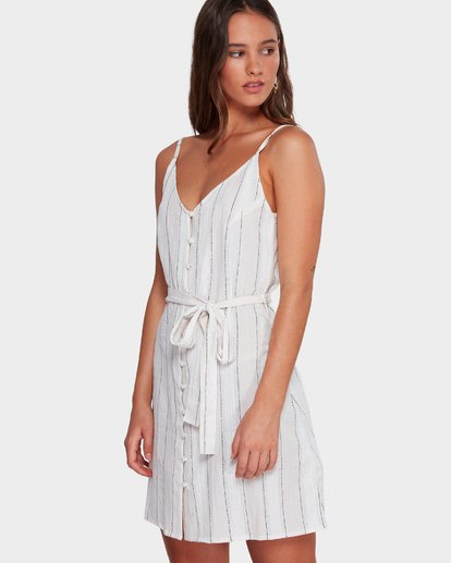 2 Arizona Stripe Dress Beige 6592486 Billabong