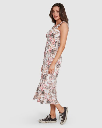 3 Lost Paradiso Midi Dress White 6592490M Billabong
