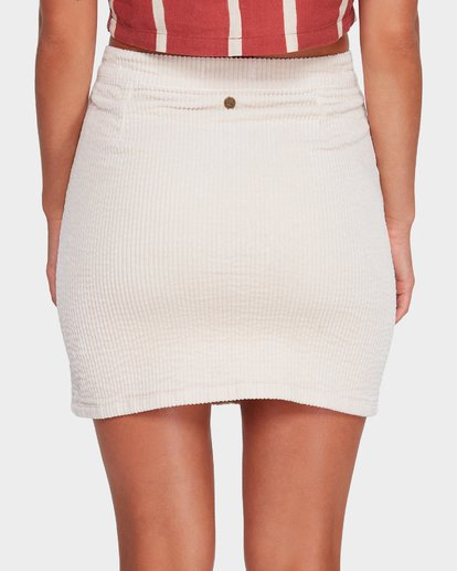 4 LILY CORDUROY SKIRT Beige 6592521 Billabong