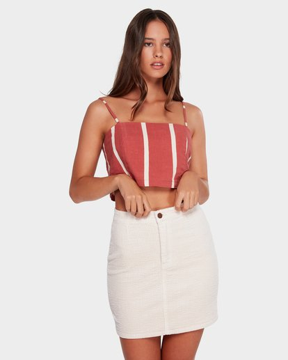 0 LILY CORDUROY SKIRT Beige 6592521 Billabong