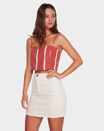 1 LILY CORDUROY SKIRT Beige 6592521 Billabong