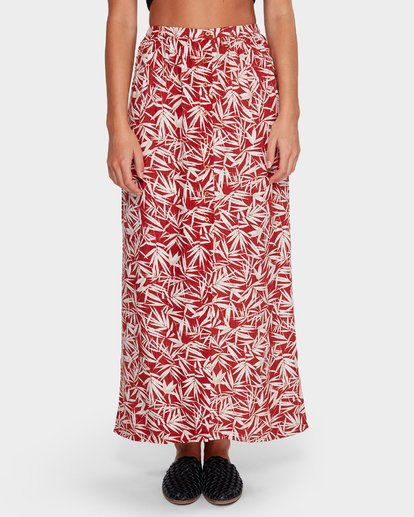 3 Fallen Palm Maxi Skirt  6592532 Billabong