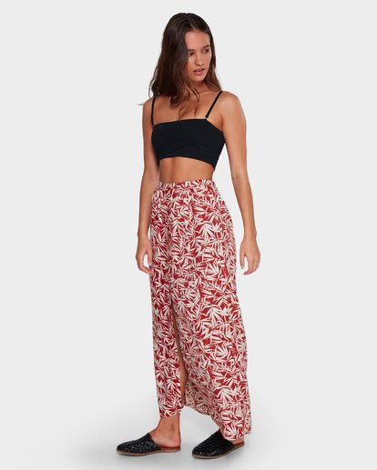 1 Fallen Palm Maxi Skirt  6592532 Billabong