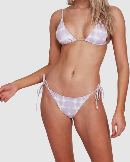 7 Cloud Tropic Tie Side Bikini Bottoms Purple 6592555M Billabong