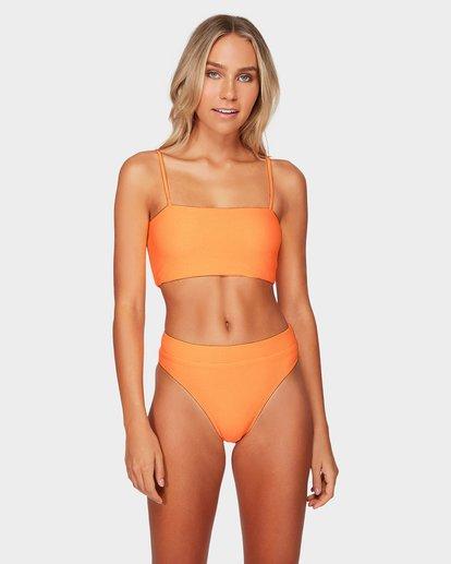 1 Tanlines Maui Rider Bikini Bottoms Yellow 6592567 Billabong