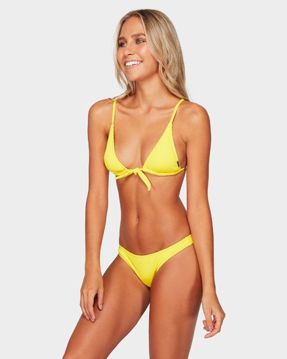 2 Sand Dunes Long Tri Bikini Top Yellow 6592596 Billabong