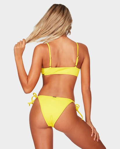 3 SAND DUNES BRALETTE BIKINI TOP Yellow 6592597 Billabong