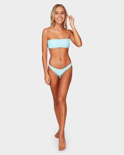 4 Wave Check Hike Bikini Bottoms Blue 6592604 Billabong