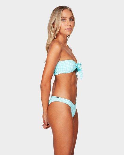 2 Wave Check Hike Bikini Bottoms Blue 6592604 Billabong