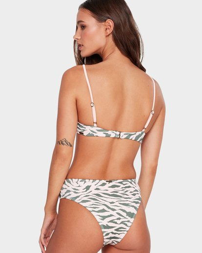 3 Untamed Maui Rider Bikini Bottoms Pink 6592614 Billabong