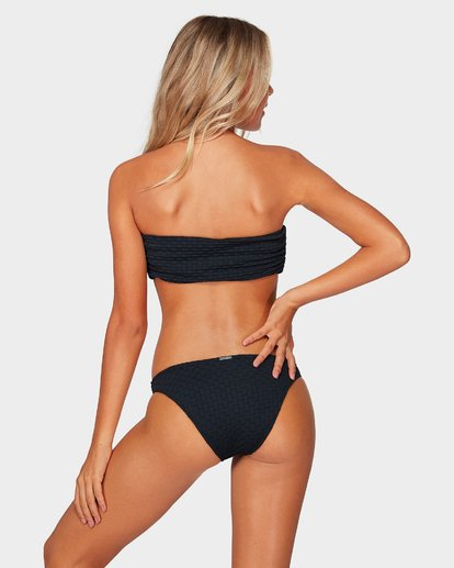 3 Lovelock Reverse Bandeau Bikini Top Black 6592616 Billabong