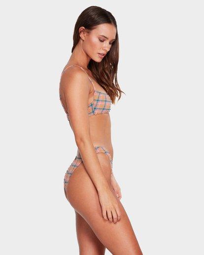 2 Sunshine Check Hike Bikini Bottoms Black 6592650 Billabong