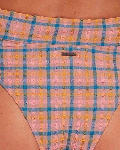4 Sunshine Check High Waisted Bikini Bottoms Black 6592652 Billabong