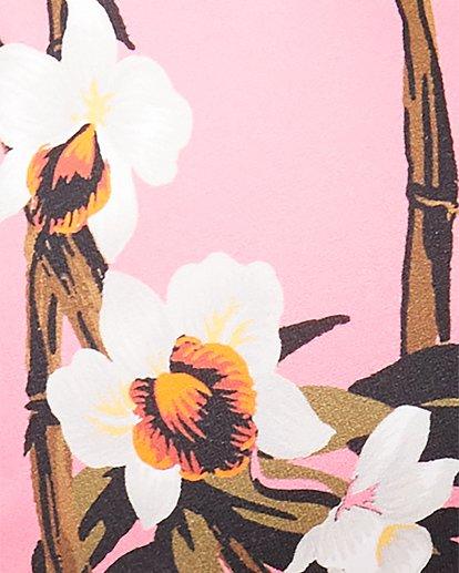 4 Tiki Floral High Point Tri Bikini Top Pink 6592654 Billabong