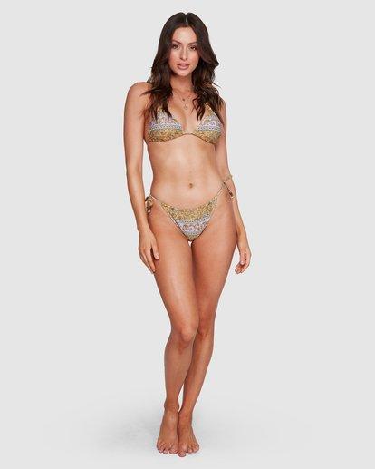 10 Elle Ferguson Castaway Tropic Bikini Bottoms Yellow 6592689M Billabong