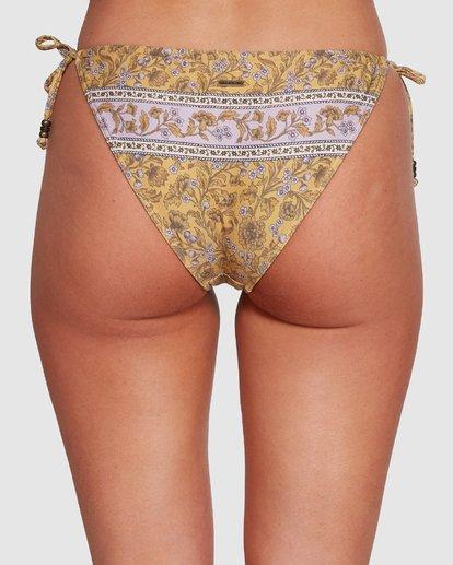 5 Elle Ferguson Castaway Tropic Bikini Bottoms Yellow 6592689M Billabong