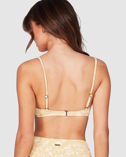 3 Morning Light Bralette Bikini Top Yellow 6592702M Billabong