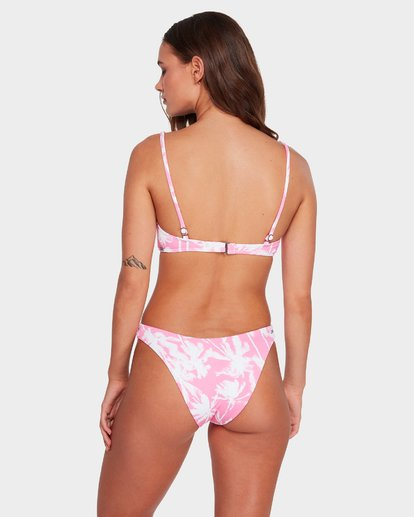 3 PRETTY PALMS BRALETTE BIKINI TOP Pink 6592706 Billabong