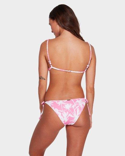3 Pretty Palms Long Tri Bikini Top Pink 6592710 Billabong